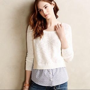🌼 Anthropologie terrace pullover🌼
